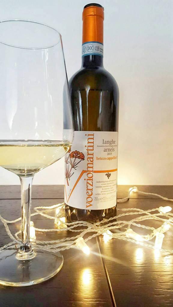 おすすめ♪北イタリアのすっきり白ワイン:アルネイス Bricco Capelina86点