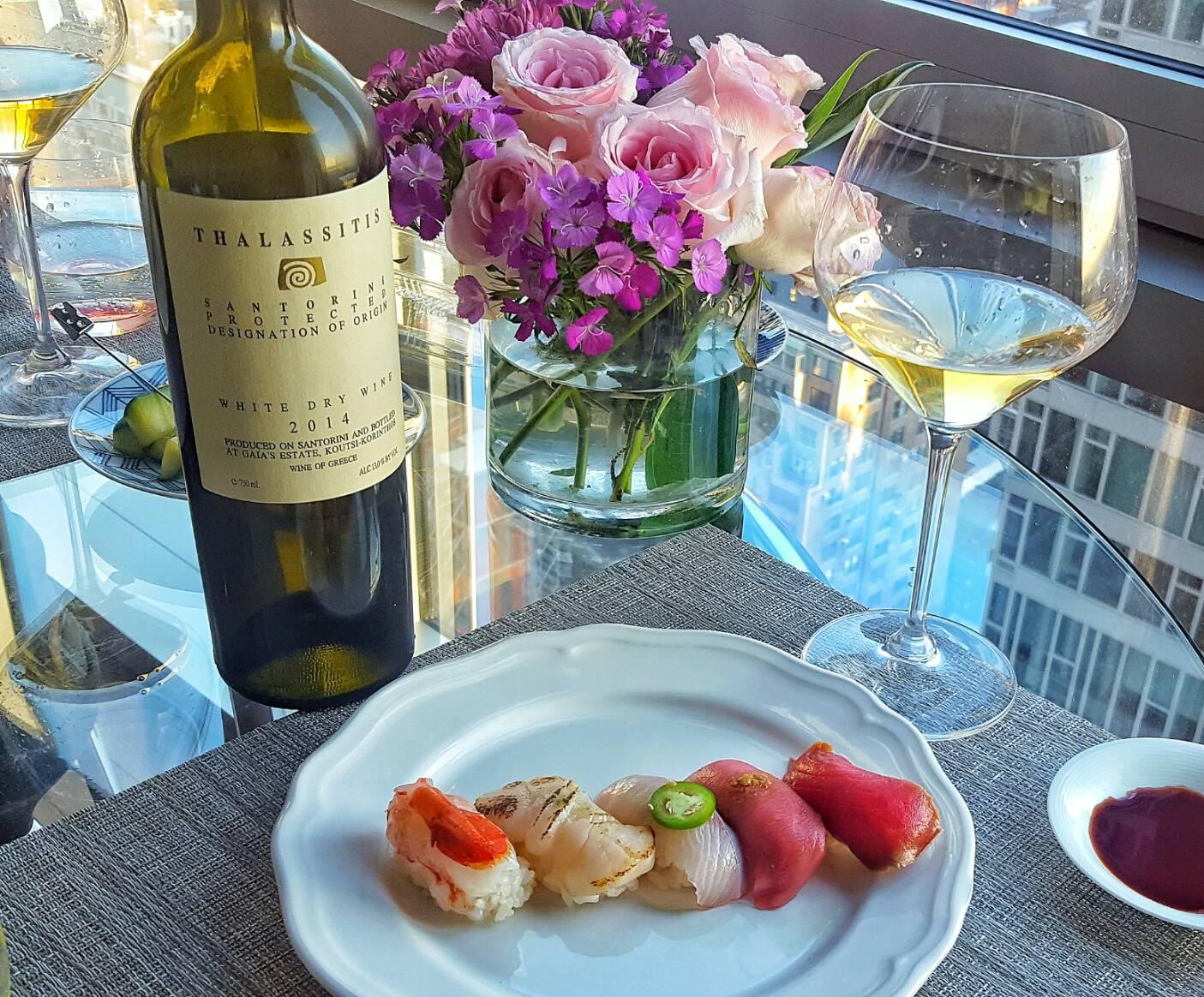 エーゲ海の自然の恵み•ギリシャの辛口白ワイン「THALASSITIS」86点