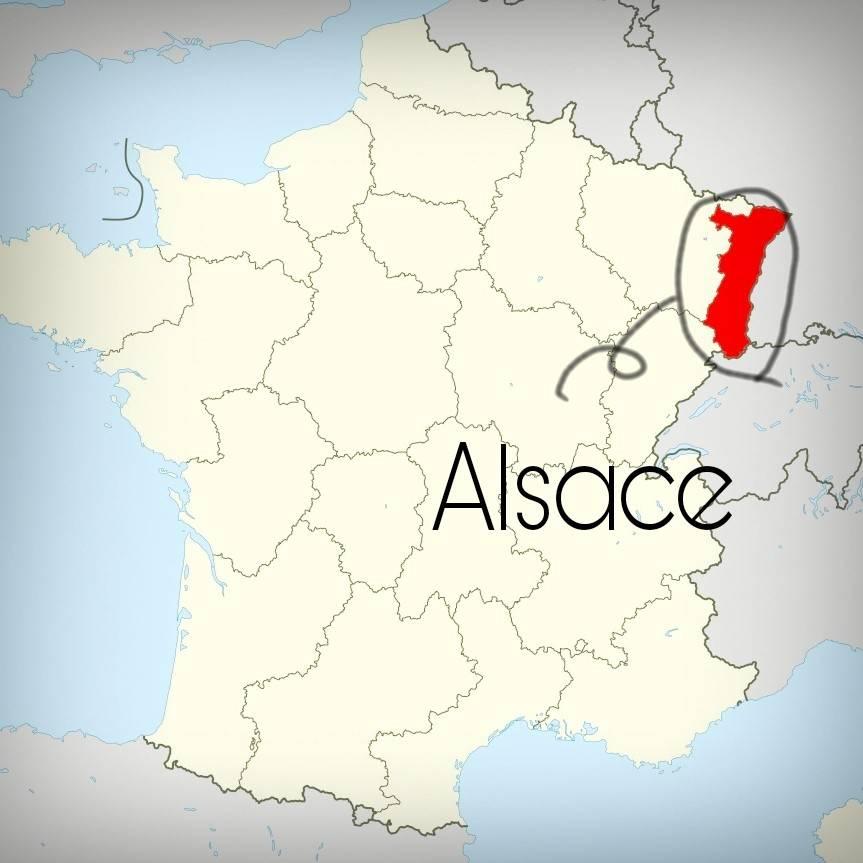 alsace地図