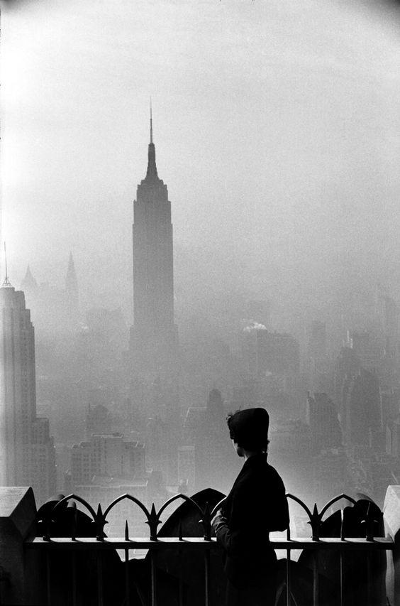 USA. New York. 1955.